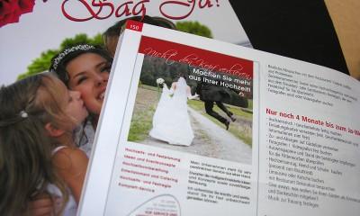 Sag Ja. – Das Hochzeitsmagazin für Sachsen-Anhalt!