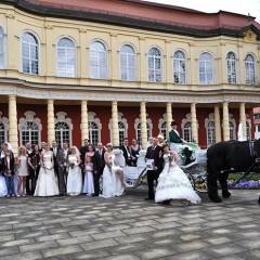 Brautpaare des Jahres 2012 aus Halle und dem Saalekreis am 13. April in Merseburg gekürt.