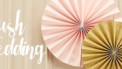 Harmonie der Farben mit Blush-Wedding